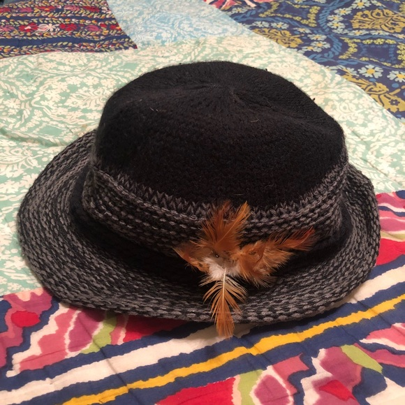 Free People Accessories Crochet Fedora Hat Poshmark